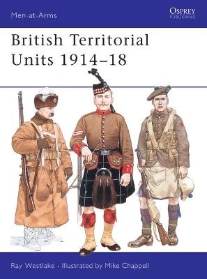 British Territorial Units, 1914-18 book
