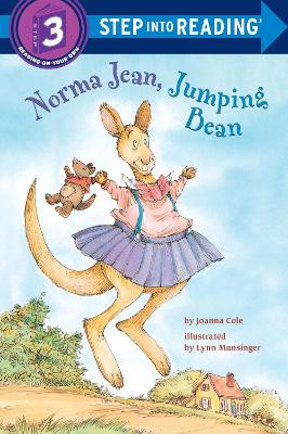 Norma Jean Jumping Bean Step Into Reading 3 by Joanna Cole
