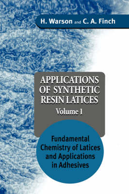 Applications of Synthetic Resin Latices book