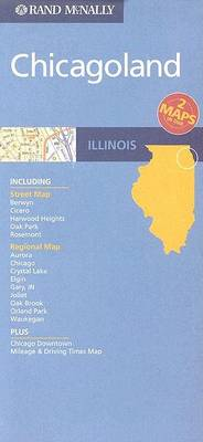 Chicagoland, Illinois by Rand McNally
