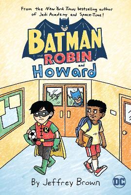 Batman and Robin and Howard book