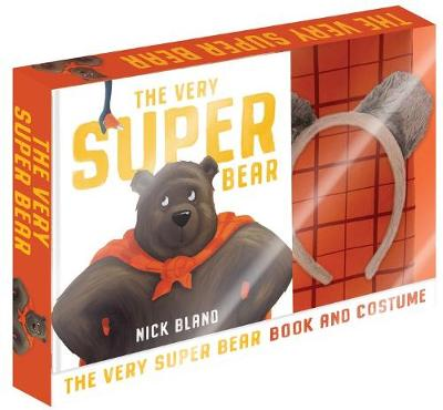 The Very Super Bear Box Set with Costume by Nick Bland