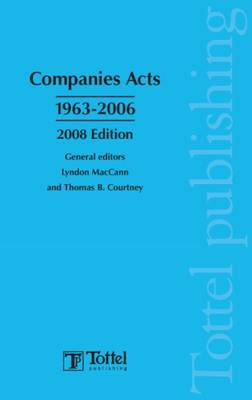 Companies Acts 1963-2006: 2008 book