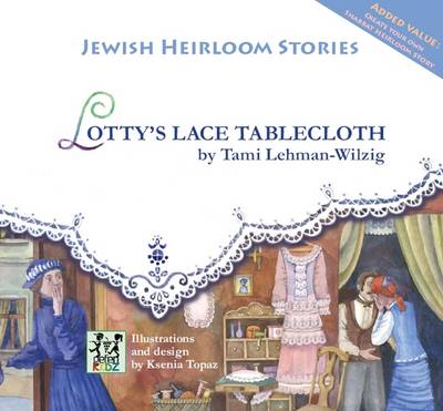 Lotty's Lace Tablecloth by Tami Lehman-Wilzig
