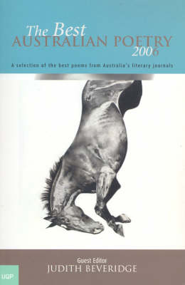 Best Australian Poetry 2006 by Judith Beveridge