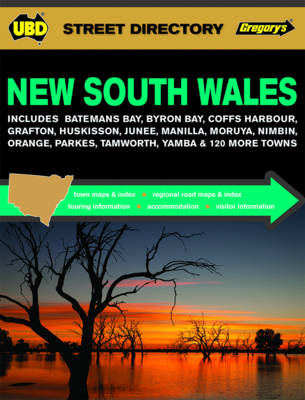 New South Wales Street Directory 19th ed by UBD Gregorys