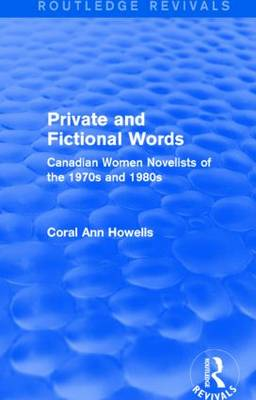 Private and Fictional Words by Coral Ann Howells