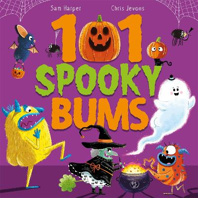 101 Spooky Bums by Sam Harper