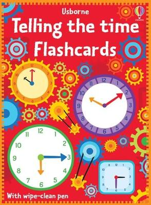 Telling the Time Flash Cards book