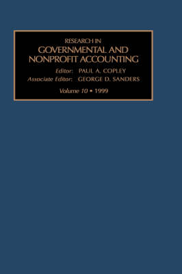 Research in Governmental and Nonprofit Accounting: v. 10 by P.A. Copley