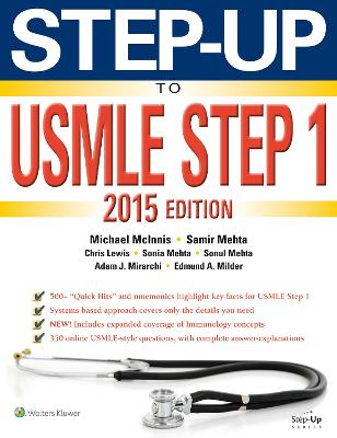 Step-Up to USMLE Step 1 2015 by Michael McInnis