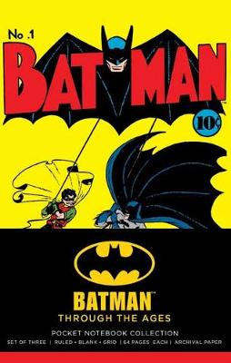 DC Comics: Batman Through The Ages Pocket Journal Collection by Insight Editions