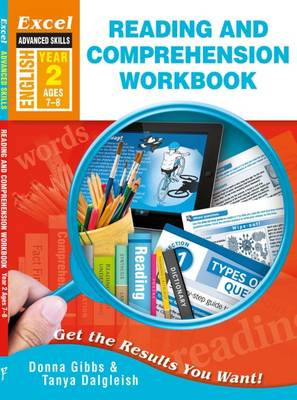 Excel Advanced Skills - Reading and Comprehension Workbook Year 2 by Donna Gibbs