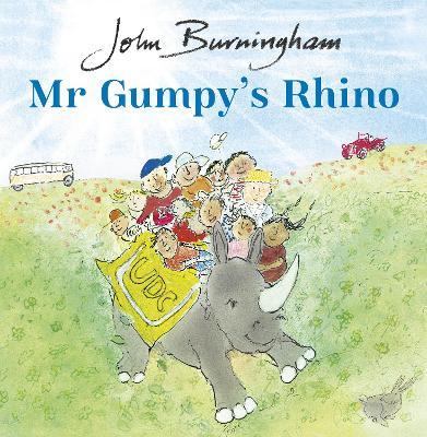 Mr Gumpy's Rhino book