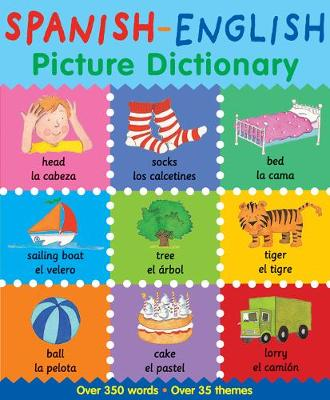Spanish-English Picture Dictionary book