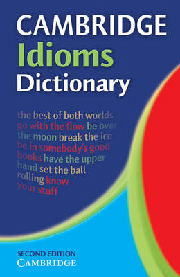 Cambridge Idioms Dictionary book