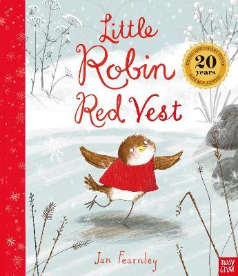 Little Robin Red Vest by Jan Fearnley