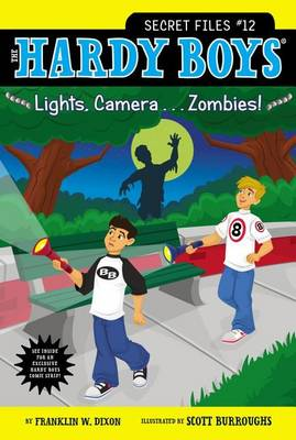 HBSF#12 Lights, Camera...Zombies! by Franklin W. Dixon