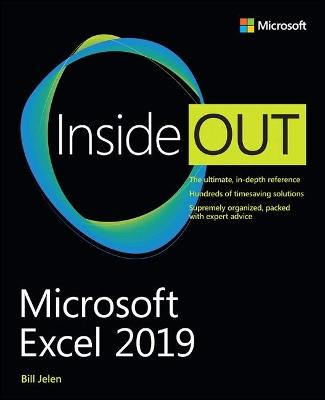 Microsoft Excel 2019 Inside Out by Bill Jelen