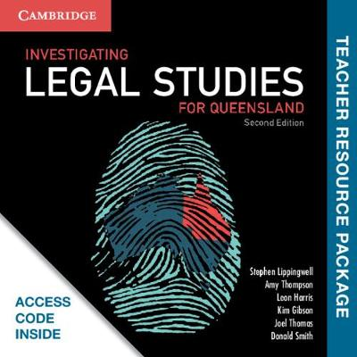 Investigating Legal Studies for Queensland Teacher Resource (Card) book