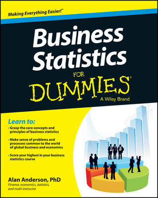 Business Statistics for Dummies by Alan Anderson