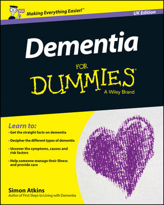 Dementia for Dummies, UK Edition by Simon Atkins
