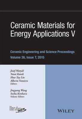 Ceramic Materials for Energy Applications  No. 5 by ACerS (American Ceramic Society)