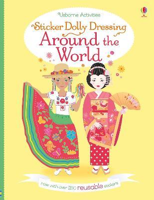Sticker Dolly Dressing Around the World by Emily Bone