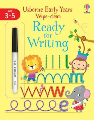 Early Years Wipe-Clean Ready for Writing by Jessica Greenwell