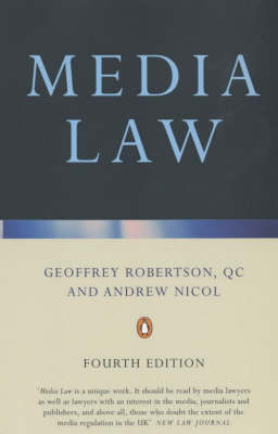 Media Law by Geoffrey Robertson