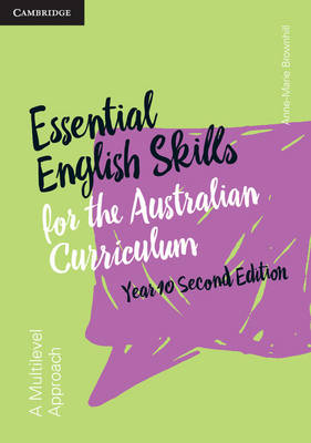 Essential English Skills for the Australian Curriculum Year 10 2nd Edition book