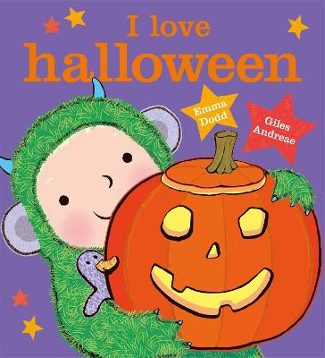 I Love Halloween by Giles Andreae