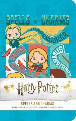 Harry Potter: Spells and Charms Ruled Pocket Journal by Insight Editions