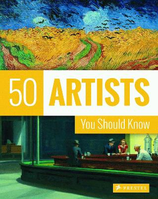 50 Artists You Should Know book