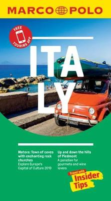 Italy Marco Polo Pocket Travel Guide 2018 - with pull out map by Marco Polo