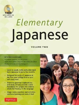 Elementary Japanese by Yoko Hasegawa