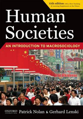 Human Societies Eleventh Edition - Study Guide by Gerhard Lenski