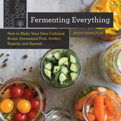 Fermenting Everything: How to Make Your Own Cultured Butter, Fermented Fish, Perfect Kimchi, and Beyond book