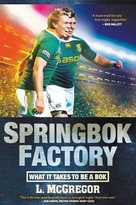 Springbok factory by Liz McGregor
