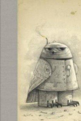 Luxury Blank Journal 8 Royal Blue: Snow Owl by Shaun Tan