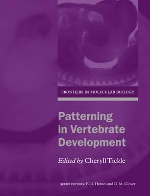 Patterning in Vertebrate Development book