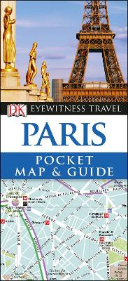 Paris Pocket Map and Guide book