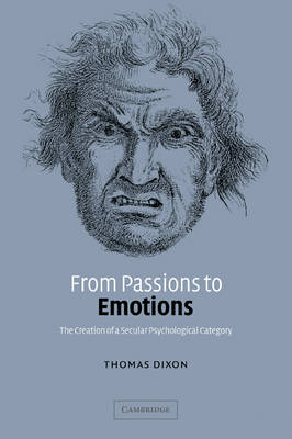 From Passions to Emotions book