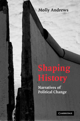 Shaping History by Professor Molly Andrews