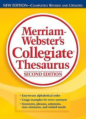 M-W Collegiate Thesaurus by Merriam-Webster