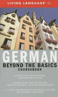 Liv Lang Beyond Basics German (Bk) by Living Language