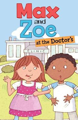 Max and Zoe at the Doctor's by Shelley Swanson Sateren