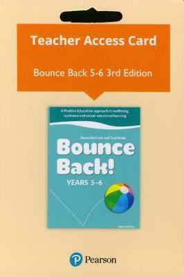 Bounce Back! Years 5-6 Reader+ (Access Card) (3e) by Helen McGrath
