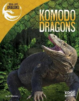 Real-Life Dragons: Komodo Dragons by Jill Sherman