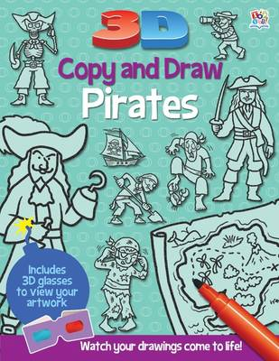 3D Copy and Draw Pirates by Barry Green